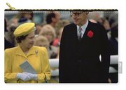 Queen Elizabeth Inspects The Horses Carry-all Pouch