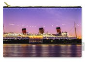 Queen Mary At Dusk_pano Carry-all Pouch