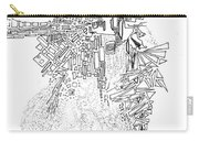 Queen Of The Afternoon Carry-all Pouch by Regina Valluzzi