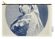 Queen Victoria Engraving - Her Majesty The Queen Carry-all Pouch