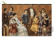 Queen Victoria, Prince Albert Carry-all Pouch