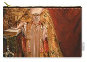 Queen Victoria Taking The Coronation Oath 28 June 1838 Carry-all Pouch