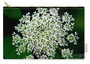 Queens Lace Flower Carry-all Pouch