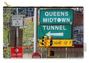 Queens Midtown Tunnel Carry-all Pouch