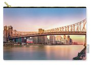 Queensboro Bridge At Sunset Carry-all Pouch