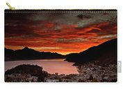 Queenstown New Zealand Sunset Carry-all Pouch