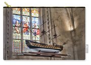 Quelven Church, Brittany, France, Ship Carry-all Pouch