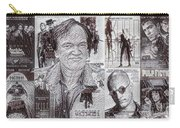 Quentin Tarantino Poster Drawing Carry-all Pouch