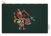 Quetzalcoatl In Human Warrior Form - Codex Magliabechiano Carry-all Pouch