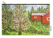 Quick Blossoms, New Grass Carry-all Pouch