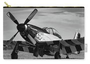 Quick Silver In Black And White Carry-all Pouch