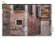 Quiet Corner In Venice Carry-all Pouch