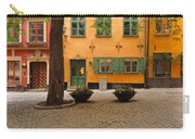 Quiet Little Square In Old Gamla Stan In Stockholm Sweden Carry-all Pouch