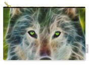 Quiet Majesty - Fractalized Version Carry-all Pouch