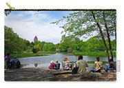 Quiet Moment In Central Park Carry-all Pouch