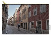 Quiet Street In Rovinj - Croatia Carry-all Pouch