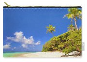 Quiet Tahiti Beach Carry-all Pouch