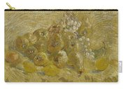 Quinces, Lemons Pears And Grapes Paris, September - October 1887 Vincent Van Gogh 1853  1890 Carry-all Pouch