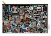 Quincy, Il Collage Carry-all Pouch