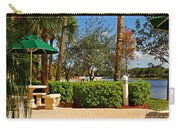 Quite Corner In Weston Florida Carry-all Pouch