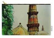 Qutab Minar Of India, Monument Of India Carry-all Pouch