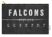 Atlanta Falcons Art - Nfl Football Wall Print Carry-all Pouch