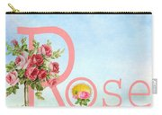 R For Rose Carry-all Pouch