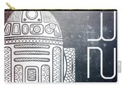 R2d2 - Star Wars Art - Space Carry-all Pouch