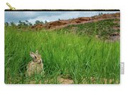 Rabbit In The Grass Carry-all Pouch