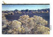 Rabbitbrush In Winter Carry-all Pouch