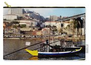 Rabelo Boats On River Douro In Porto 02 Carry-all Pouch