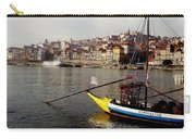 Rabelo Boats On River Douro In Porto 03 Carry-all Pouch