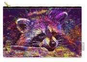 Raccoon Wild Animal Furry Mammal  Carry-all Pouch