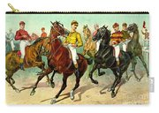 Racehorses 1893 Carry-all Pouch