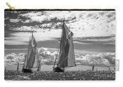 Racing On Open Waters B-w Carry-all Pouch