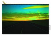 Racing The Sunset Carry-all Pouch