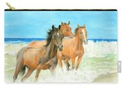 Racing The Surf Carry-all Pouch