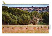 Nine Racing Whitetail Deer Carry-all Pouch