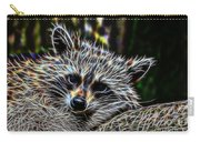Racoon Fractal Carry-all Pouch