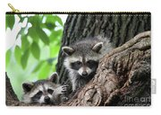 Racoons In Tree Carry-all Pouch