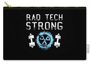 Rad Tech Strong Radiology Workout Carry-all Pouch