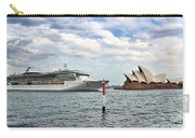 Radiance Of The Seas Passing Opera House Carry-all Pouch