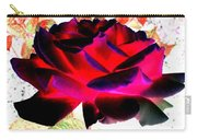 Radiant Red Rose Carry-all Pouch