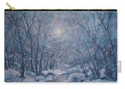 Radiant Snow Scene Carry-all Pouch