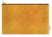 Radiation With Gold  Red And Brown  Carry-all Pouch