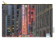 Radio City Music Hall New York Carry-all Pouch