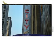 Radio City Music Hall Carry-all Pouch by Paul Ward