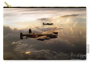 Raf Lancaster And Spitfire Carry-all Pouch