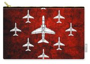 Raf Red Arrows Hawk T1 Carry-all Pouch