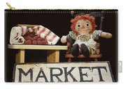 Raggedy Ann Selling Raspberries Carry-all Pouch
